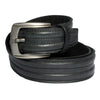 Authentic Leather Designer Stylish Casual Jeans Black Belt