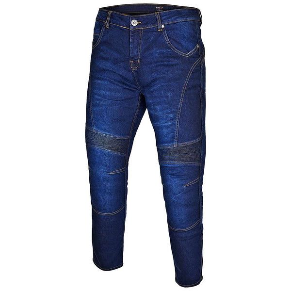 RIDERACT™  Bikers Style Jeans Dark Blue