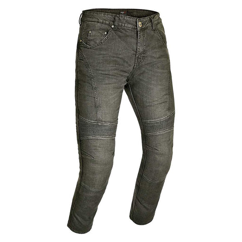RIDERACT™ Men Bikers Style Jeans Grey