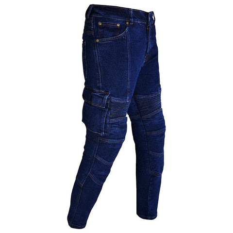 RIDERACT Cargo Jeans Pant Dark Blue
