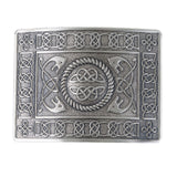 serpent celtic kilt buckle silver
