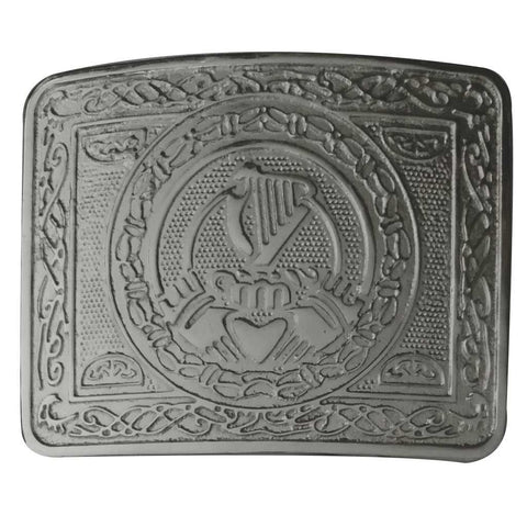 Celtic Heart Crafted Kilt Belt Buckle