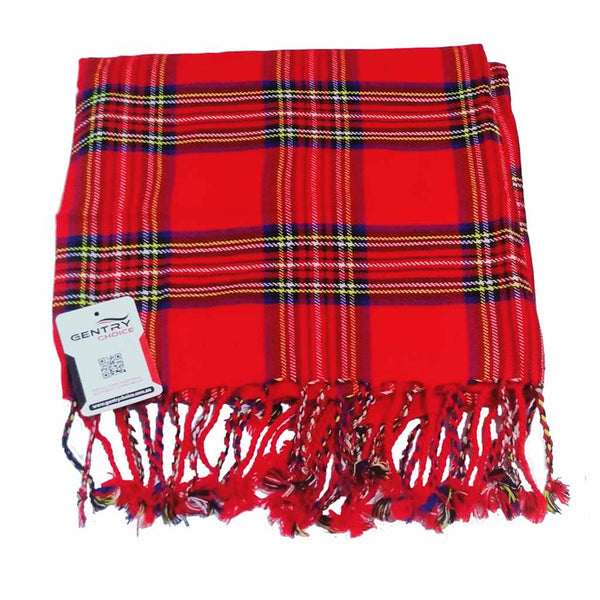 Tartan Fly Plaid Royal Stewart