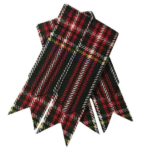 Tartan Black Stewart Flashes