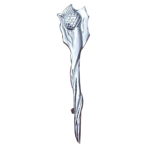 thistle cross kilt pin
