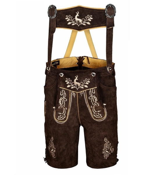 leather lederhosen deer oak