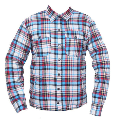 kevlar shirt  motorcycle shirt reinforced kevlar blue shirt