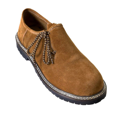 Oktoberfest Outfit Traditional Men Bavarian Shoes Light Brown