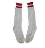 Men Oktoberfest Outfit Bavarian Socks Long Rustic White