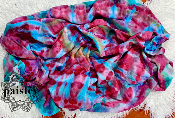 Hand Dyed Cotton Flannelette Wrap