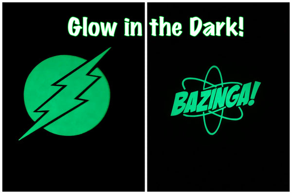 "Custom Pair ""GLOW IN THE DARK"" Scrundies"