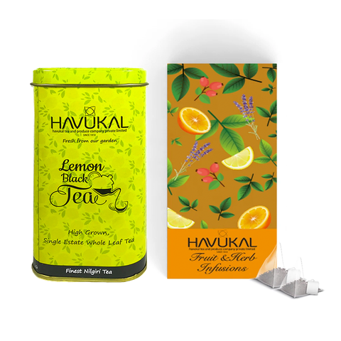 Fruit & Herbal Infusion Tea Combo
