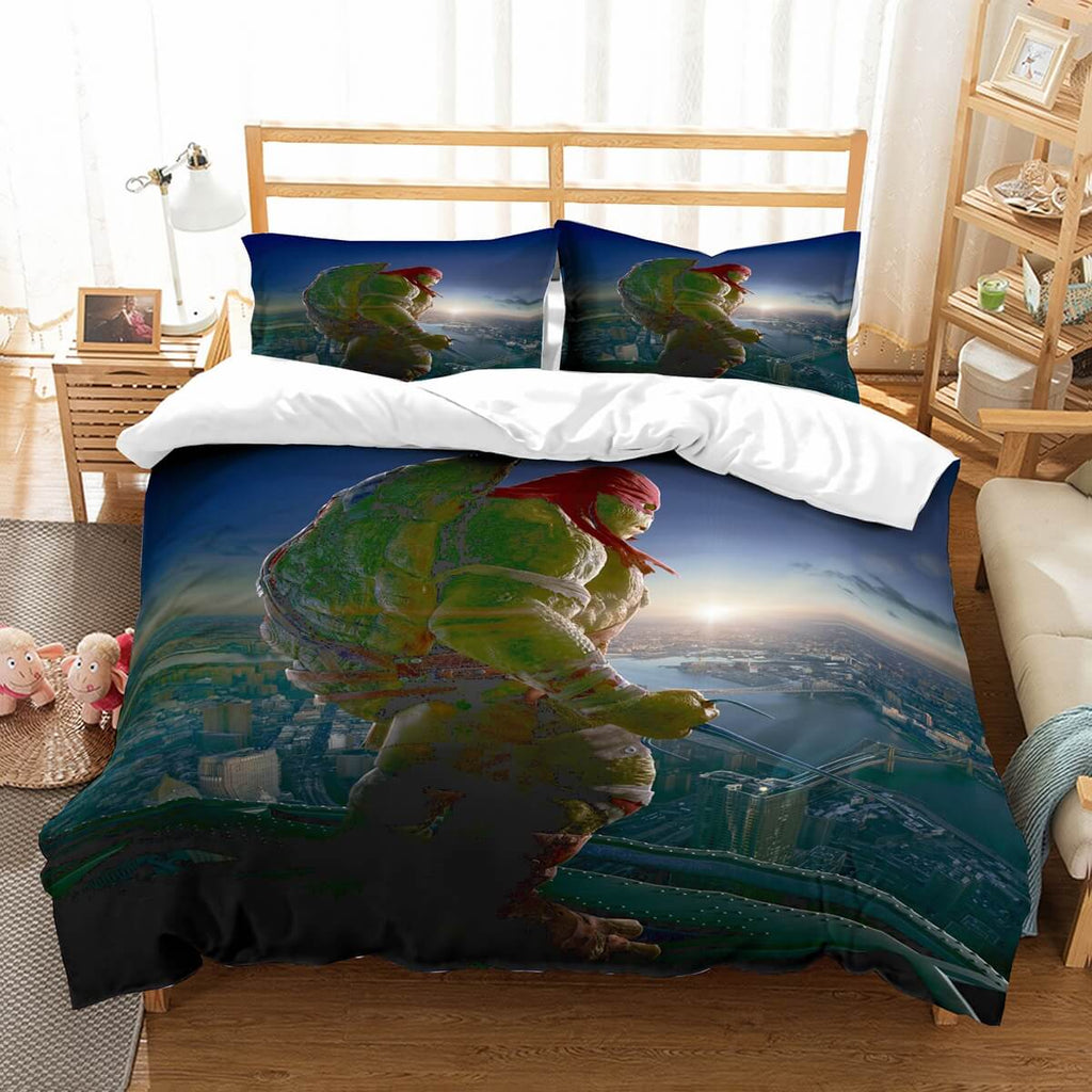 3D Customize Ninja Turtles Bedding Set Duvet Cover Set Bedroom Set Bedlinen