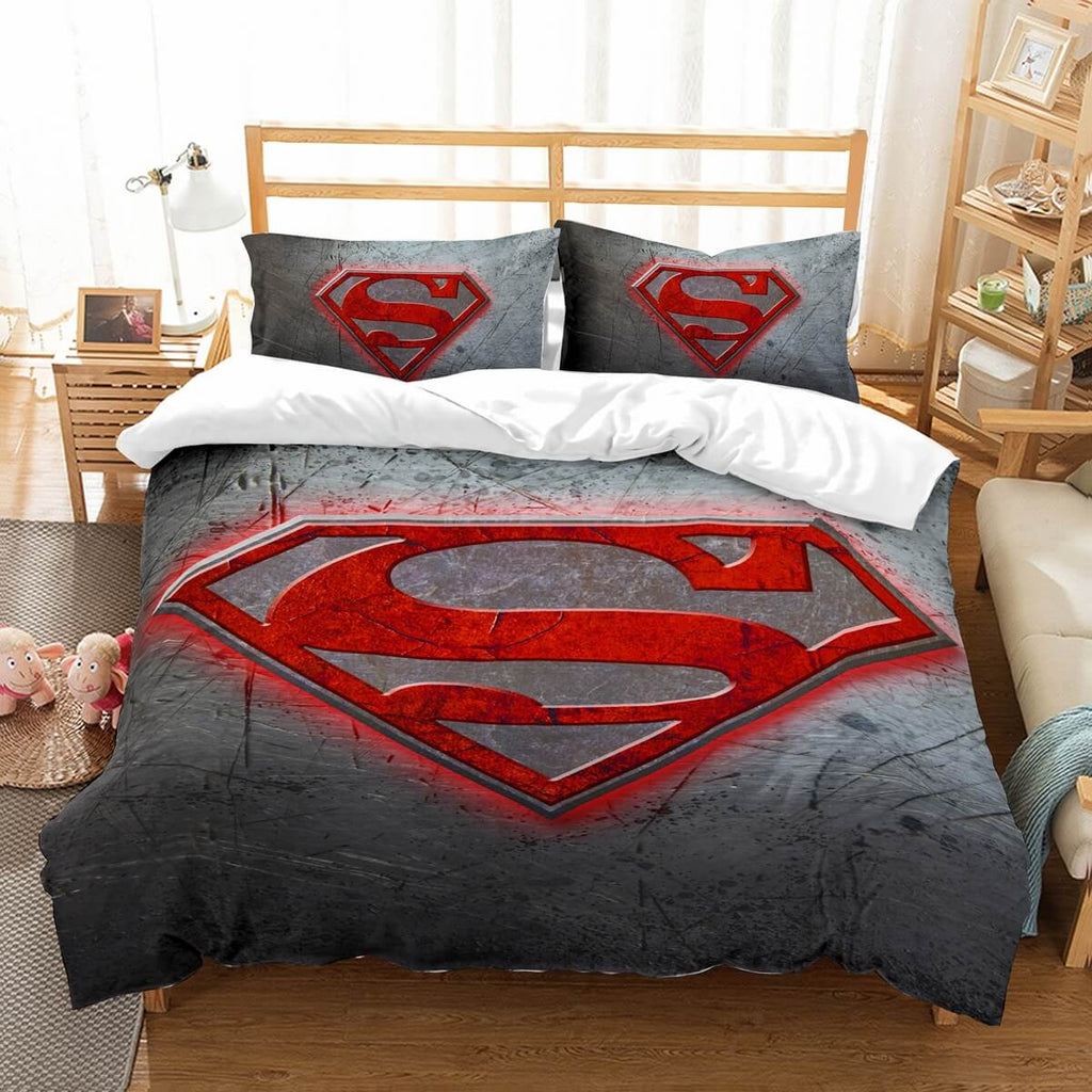 3D Customize Superman Bedding Set Duvet Cover Set Bedroom Set Bedlinen
