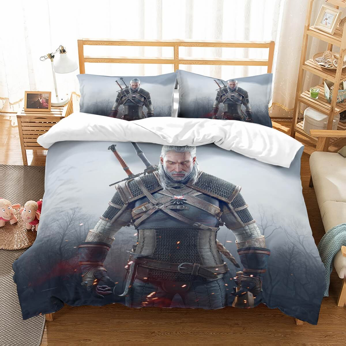 3D Customize The Witcher 3 Wild Hunt Bedding Set Duvet Cover Set Bedroom Set Bedlinen
