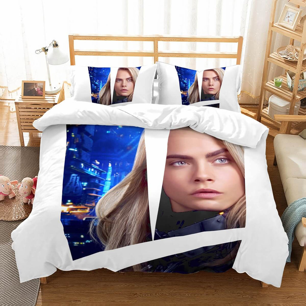 3D Customize Valerian And The City Of A Thousand Planets Bedding Set Duvet Cover Set Bedroom Set Bedlinen