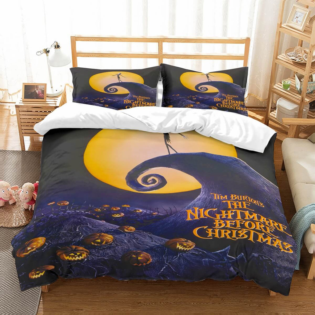 3D Customize The Nightmare Before Christmas Bedding Set Duvet Cover Set Bedroom Set Bedlinen