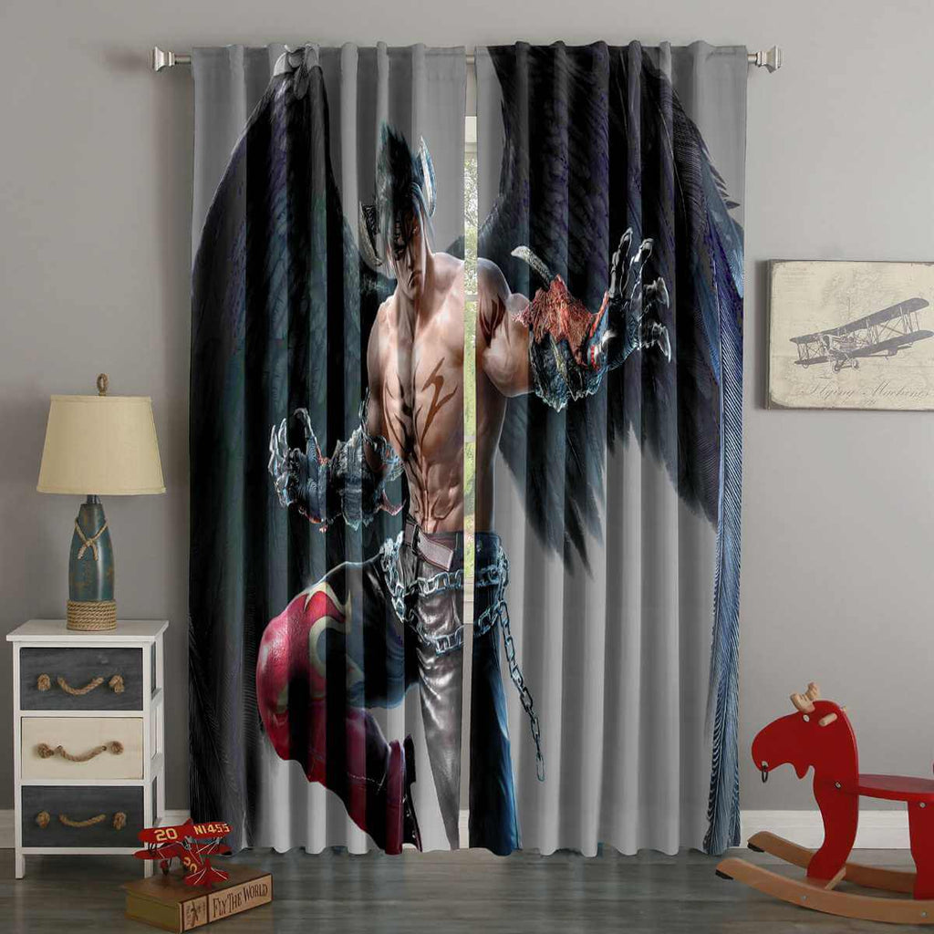 3D Printed Tekken 7 Style Custom Living Room Curtains