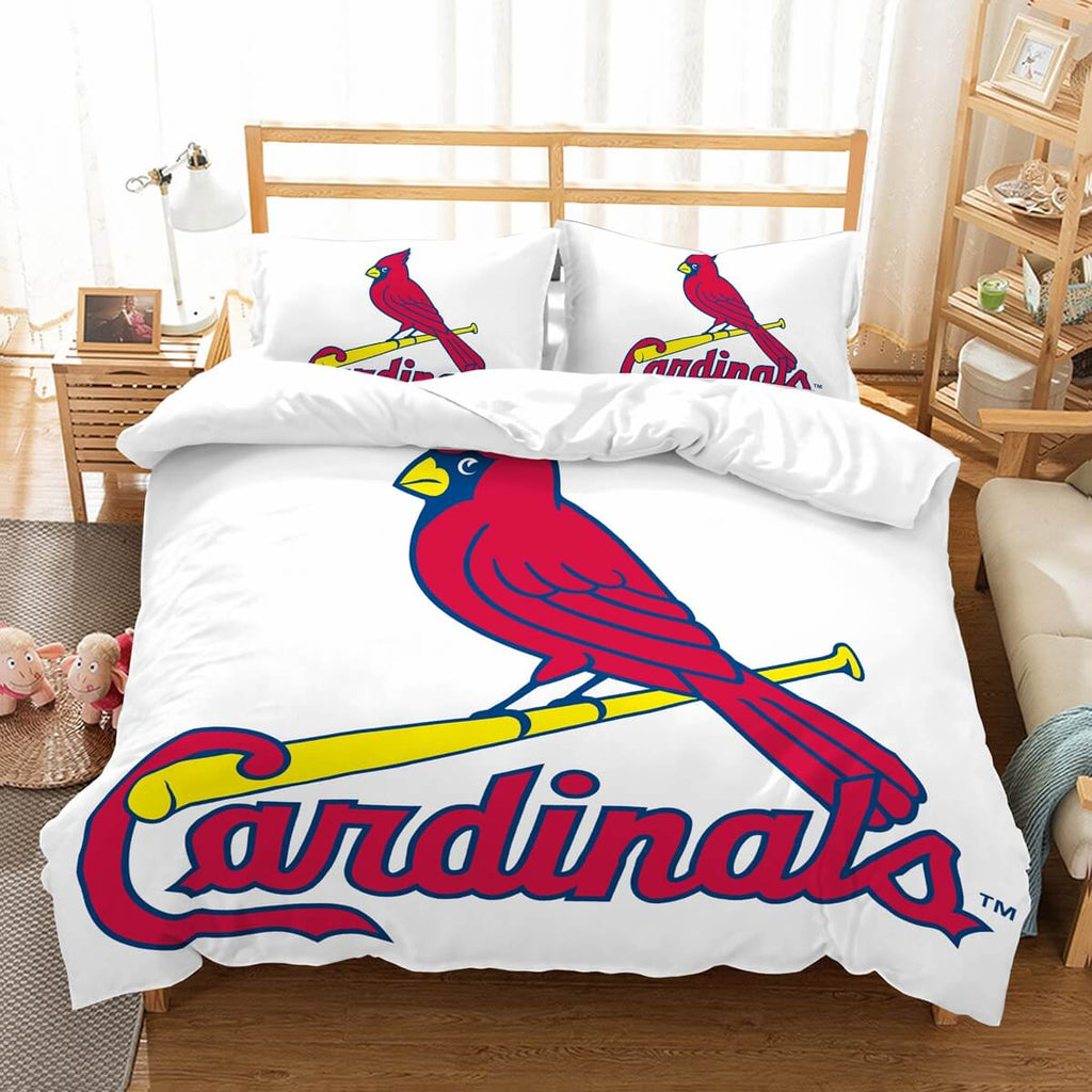 3D Customize St. Louis Cardinals Bedding Set Duvet Cover Set Bedroom Set Bedlinen