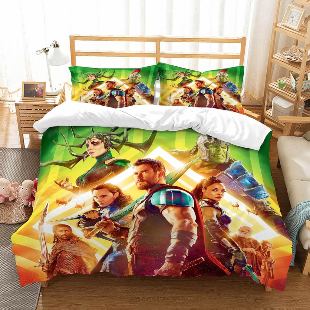 3D Customize Thor Ragnarok Bedding Set Duvet Cover Set Bedroom Set Bedlinen