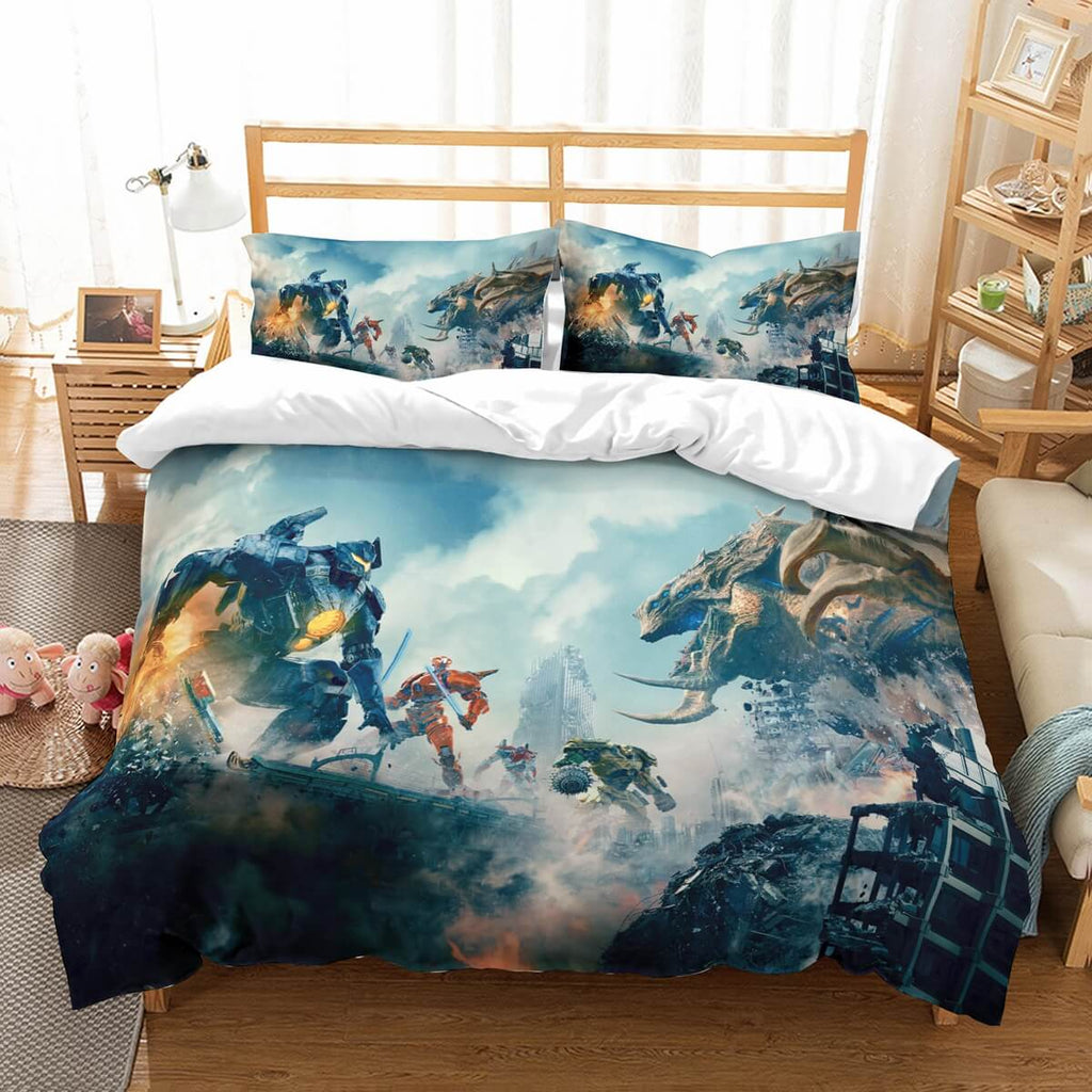 3D Customize Pacific Rim Uprising Bedding Set Duvet Cover Set Bedroom Set Bedlinen