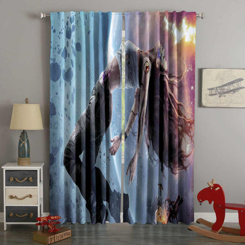 3D Printed Teleios Style Custom Living Room Curtains
