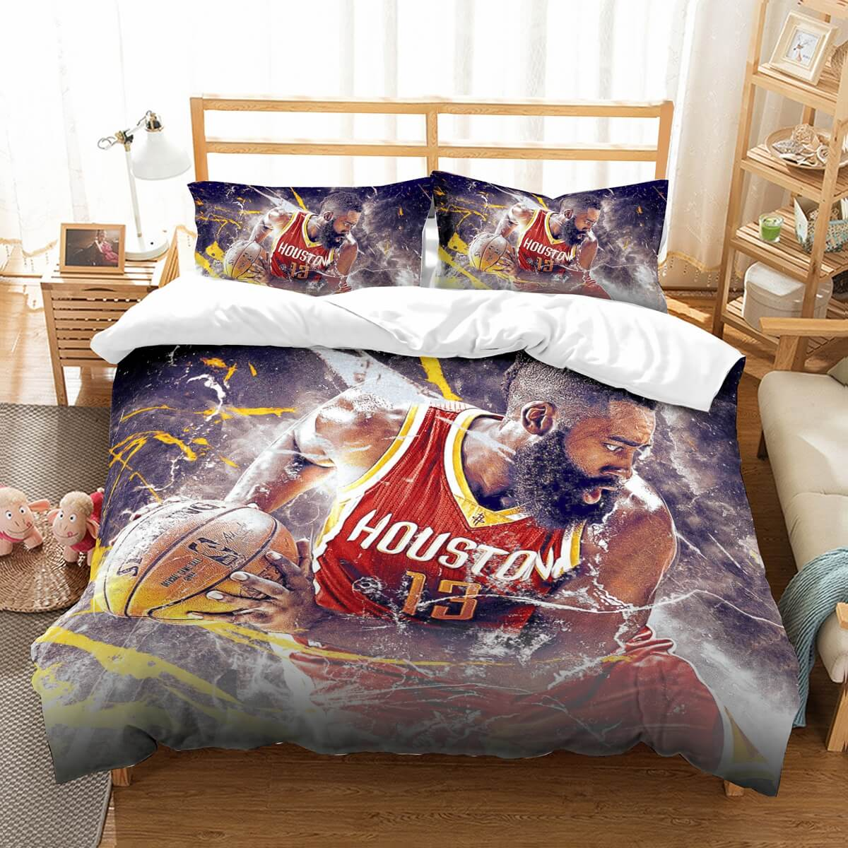 3D Customize James Harden Bedding Set Duvet Cover Set Bedroom Set Bedlinen
