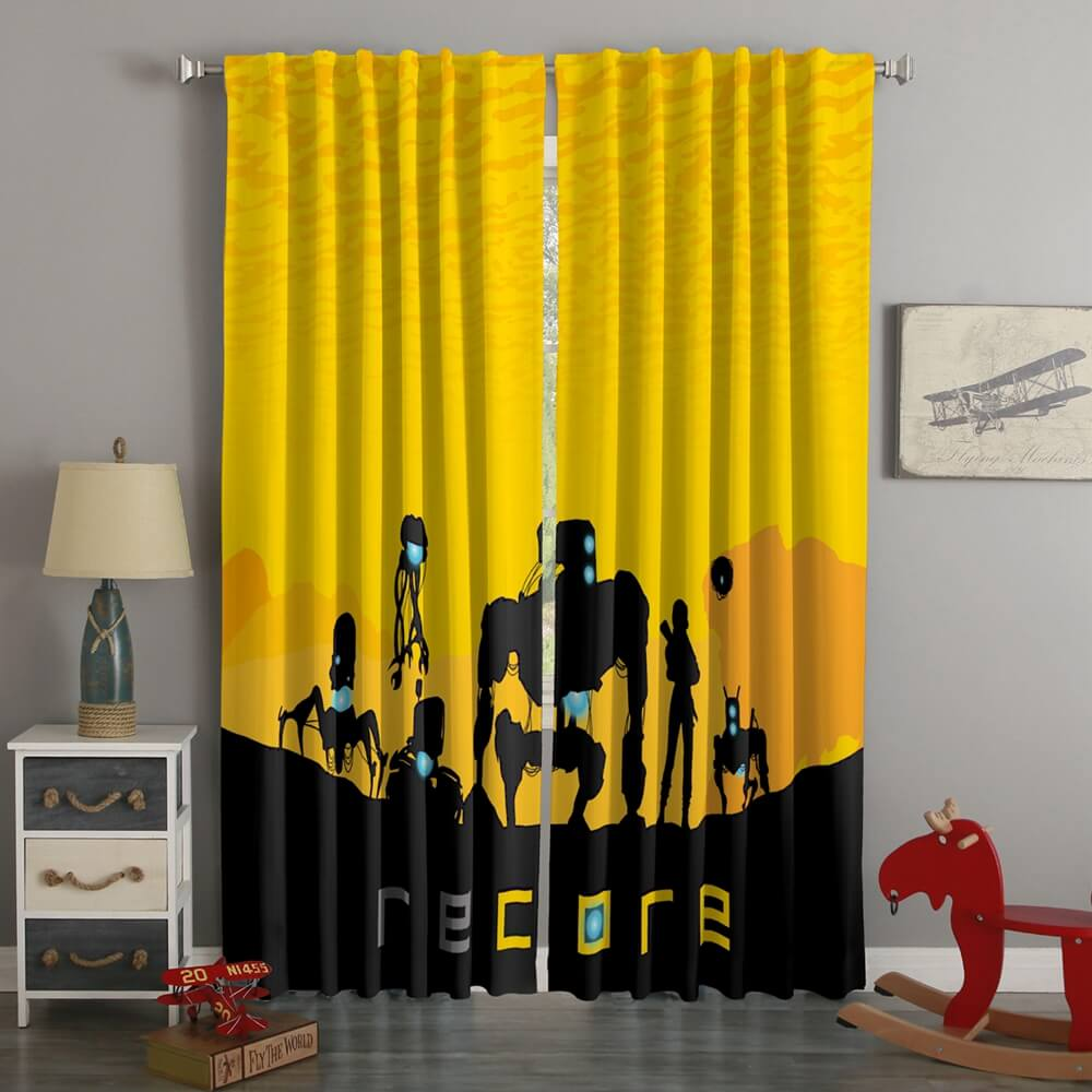 3D Printed Recore Style Custom Living Room Curtains