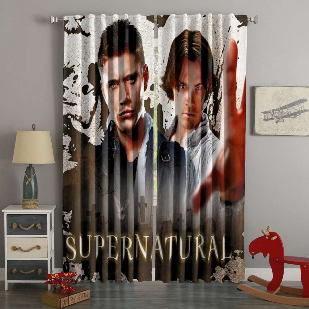3D Printed Supernatural Style Custom Living Room Curtains