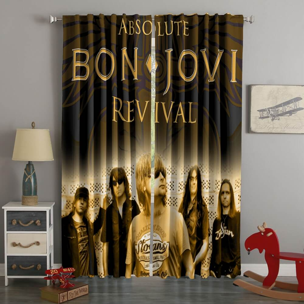 3D Printed Bon Jovi Style Custom Living Room Curtains