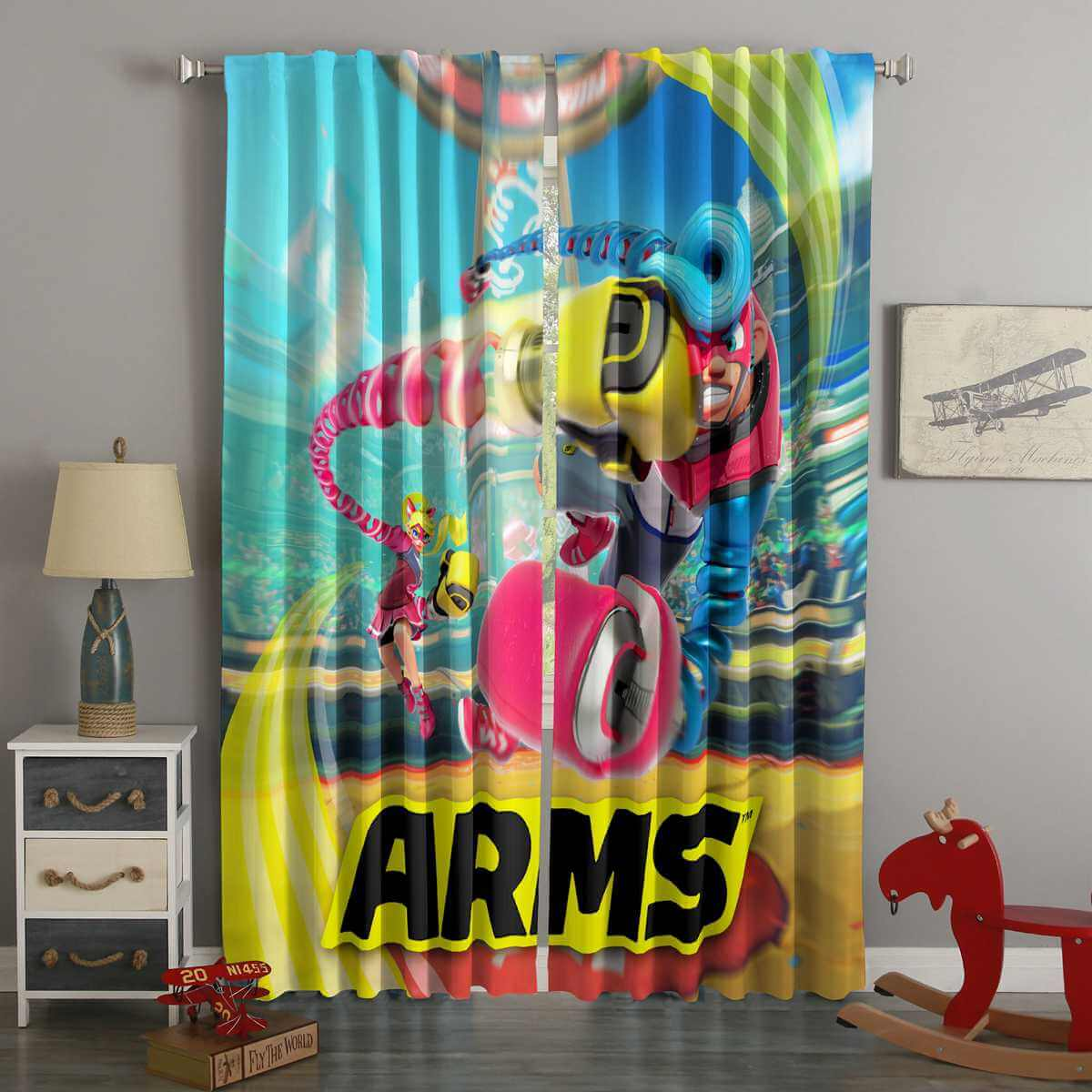 3D Printed ARMS Style Custom Living Room Curtains