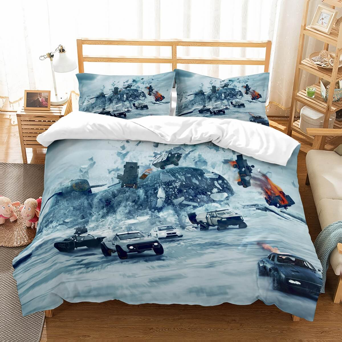 3D Customize The Fate Of The Furious Bedding Set Duvet Cover Set Bedroom Set Bedlinen