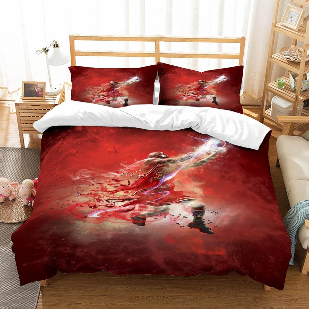 3D Customize Micheal Jordan Bedding Set Duvet Cover Set Bedroom Set Bedlinen