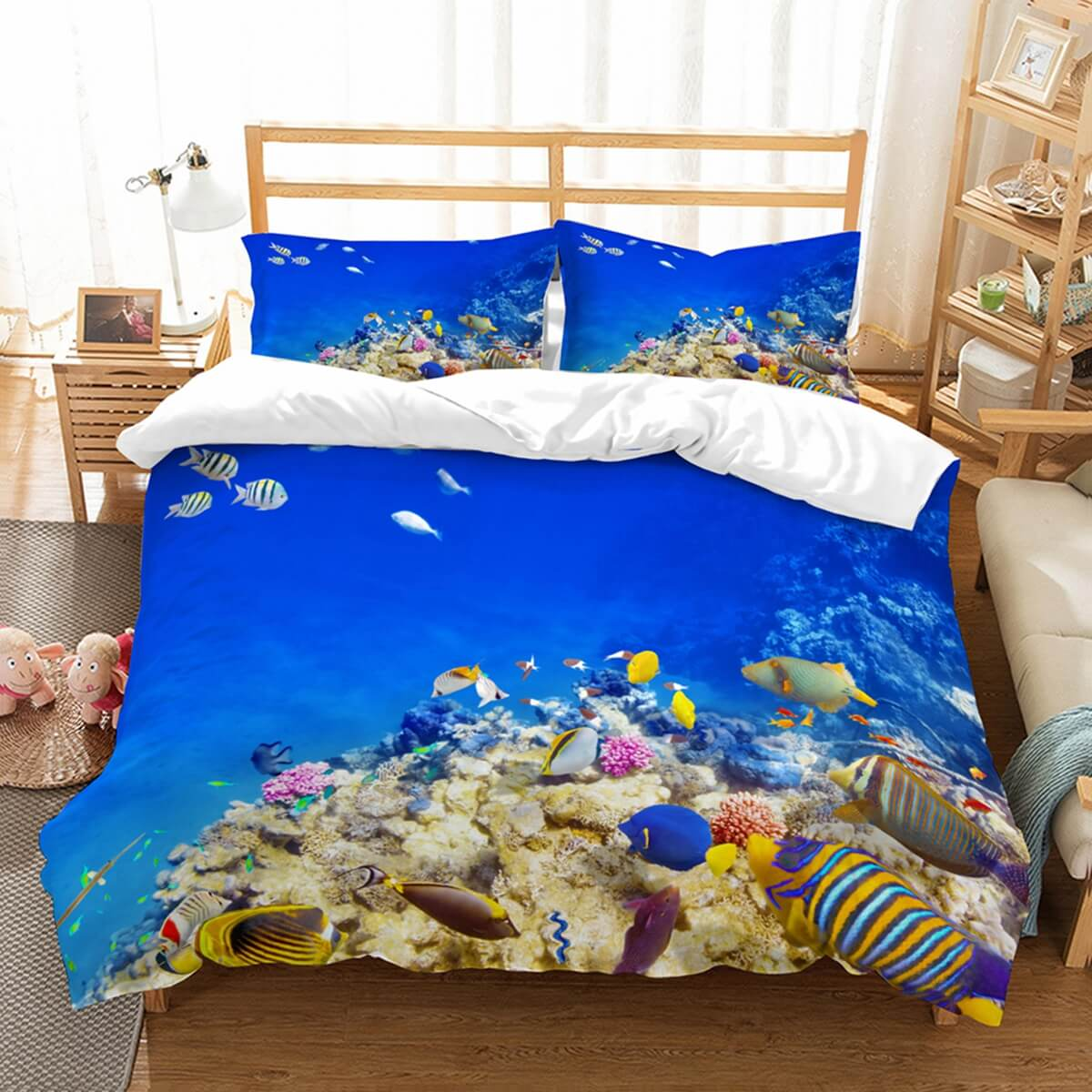 3D Customize Underwater World Bedding Set Duvet Cover Set Bedroom Set Bedlinen