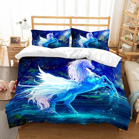 3D Customize Unicorn Bedding Set Duvet Cover Set Bedroom Set Bedlinen