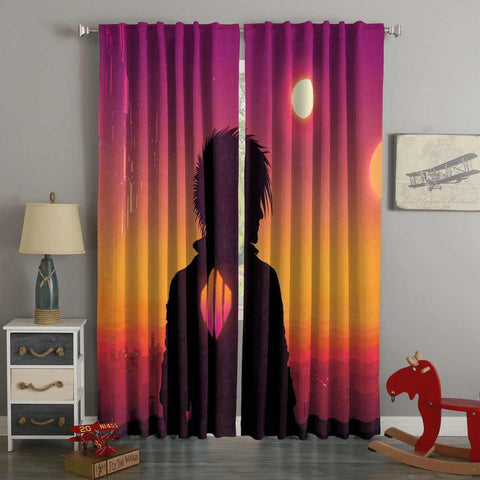 3D Printed Scandroid Style Custom Living Room Curtains