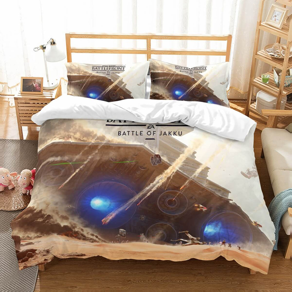 3D Customize Star Wars Battlefront Bedding Set Duvet Cover Set Bedroom Set Bedlinen