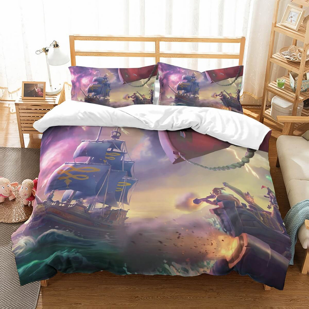 3D Customize Sea Of Thieves Bedding Set Duvet Cover Set Bedroom Set Bedlinen