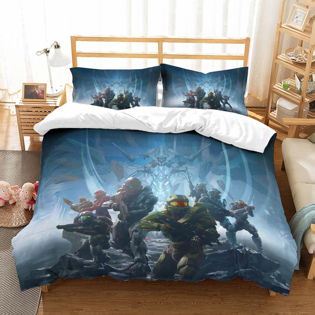 3D Customize Halo 5 Guardians Bedding Set Duvet Cover Set Bedroom Set Bedlinen