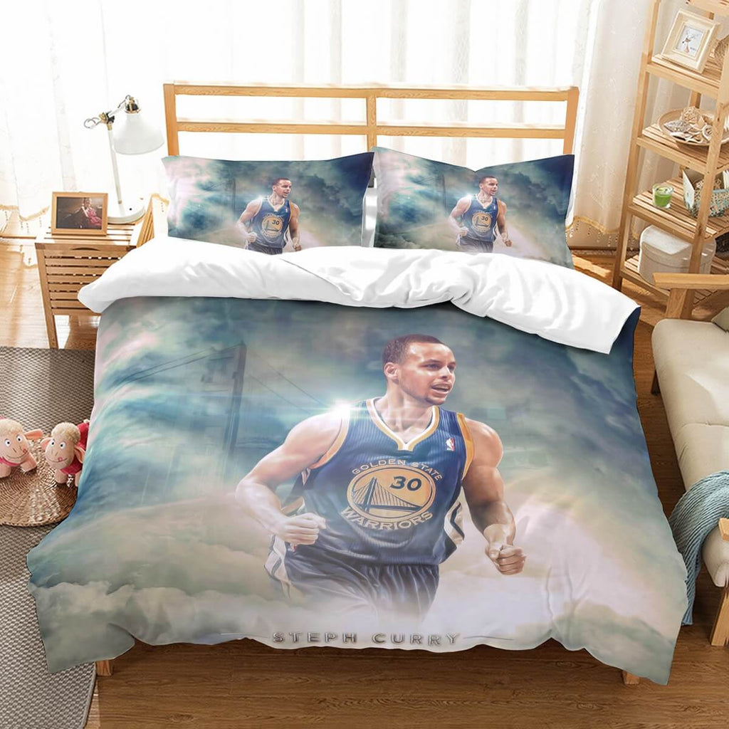 3D Customize Stephen Curry Bedding Set Duvet Cover Set Bedroom Set Bedlinen