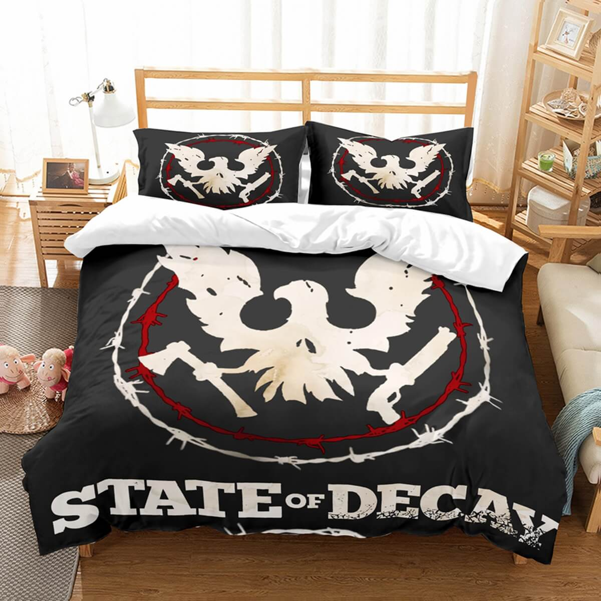 3D Customize State Of Decay 2 Bedding Set Duvet Cover Set Bedroom Set Bedlinen