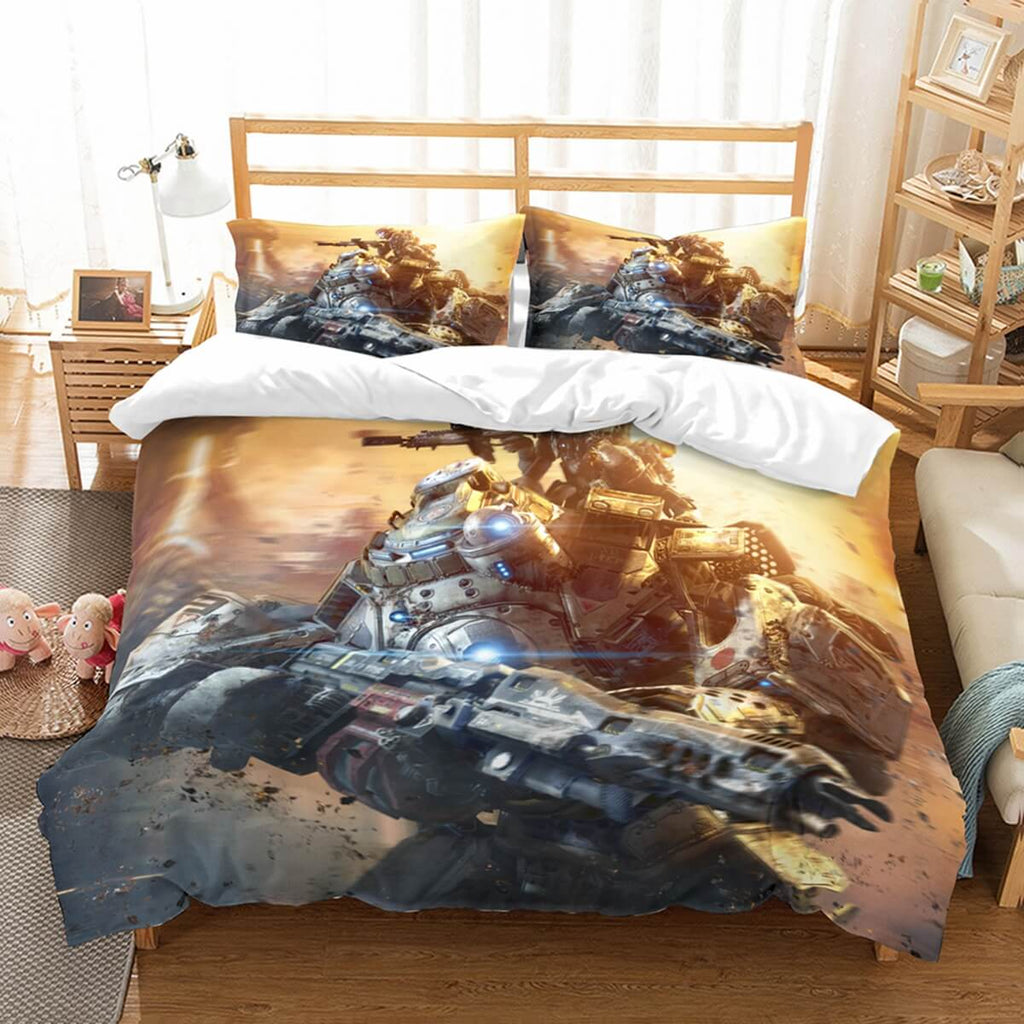 3D Customize Titanfall Bedding Set Duvet Cover Set Bedroom Set Bedlinen