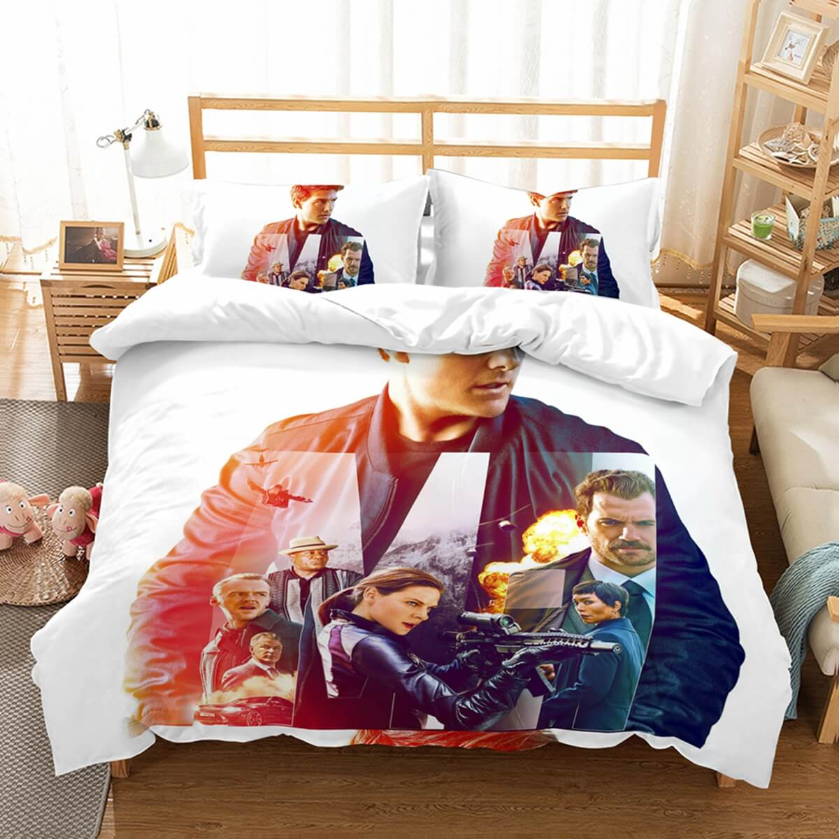3D Customize Mission Impossible Fallout Bedding Set Duvet Cover Set Bedroom Set Bedlinen