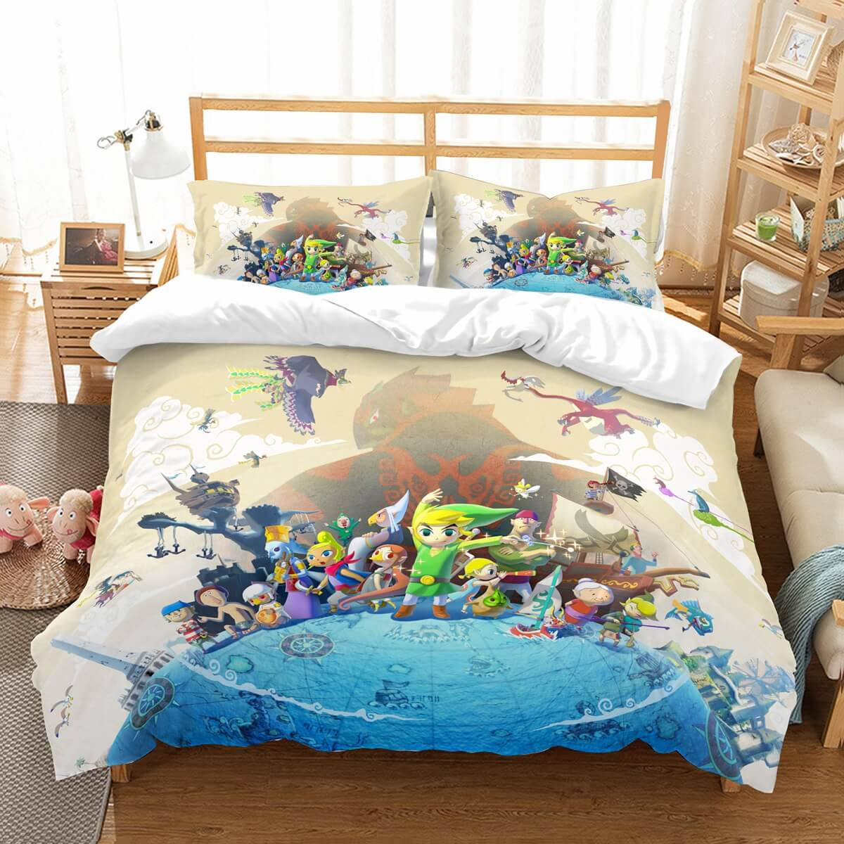 3D Customize The Legend Of Zelda Bedding Set Duvet Cover Set Bedroom Set Bedlinen