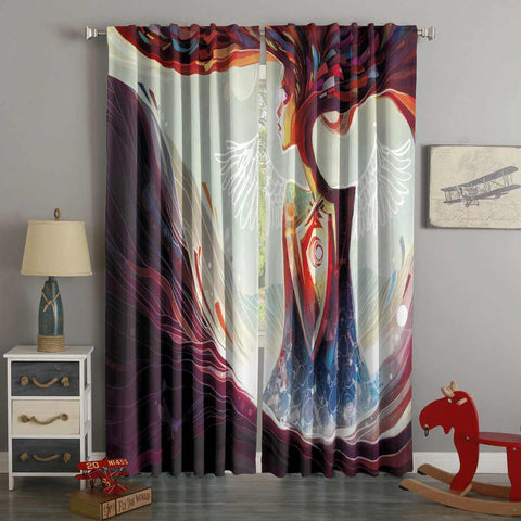 3D Printed Desires Of Life Style Custom Living Room Curtains