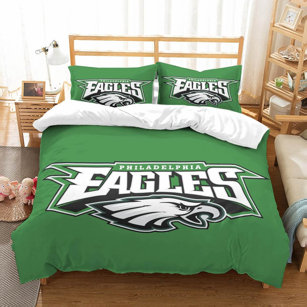 3D Customize Philadelphia Eagles Bedding Set Duvet Cover Set Bedroom Set Bedlinen