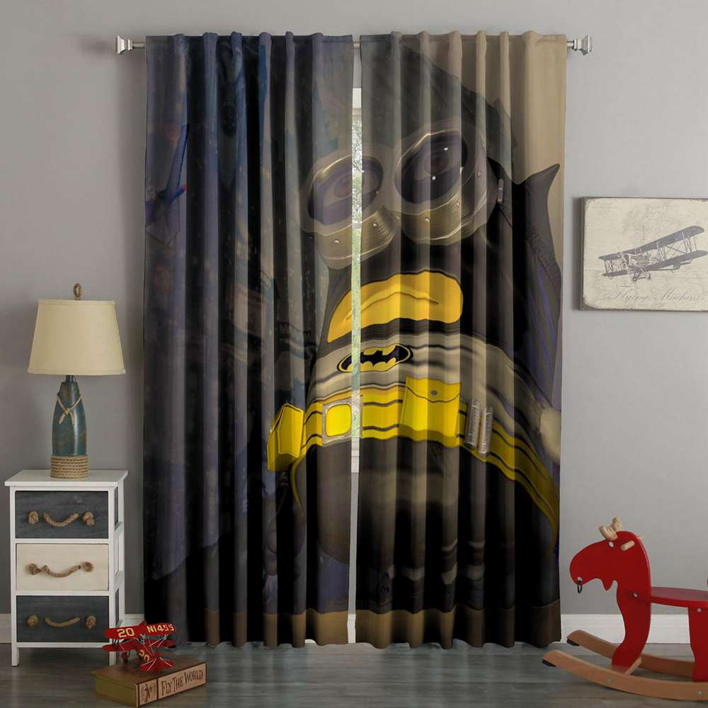 3D Printed Minions Style Custom Living Room Curtains