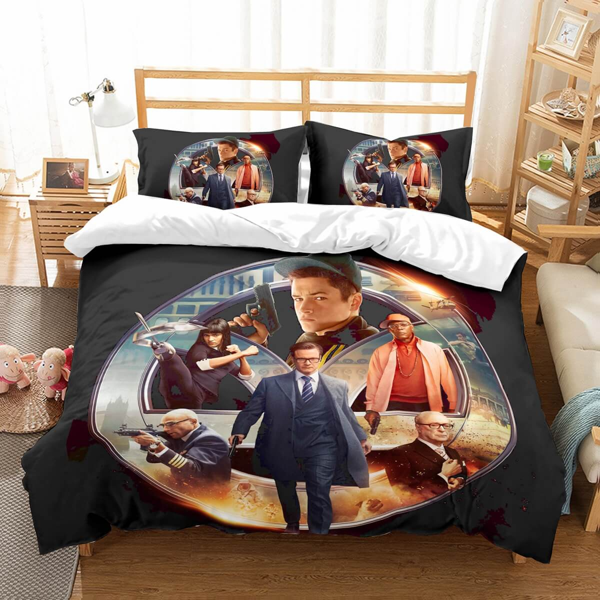 3D Customize Kingsman The Secret Service Bedding Set Duvet Cover Set Bedroom Set Bedlinen