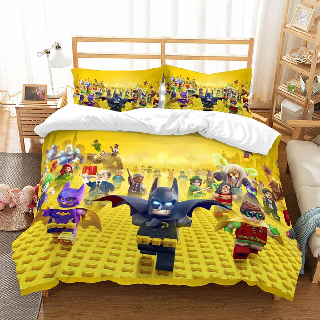 3D Customize The LEGO Batman Movie Bedding Set Duvet Cover Set Bedroom Set Bedlinen