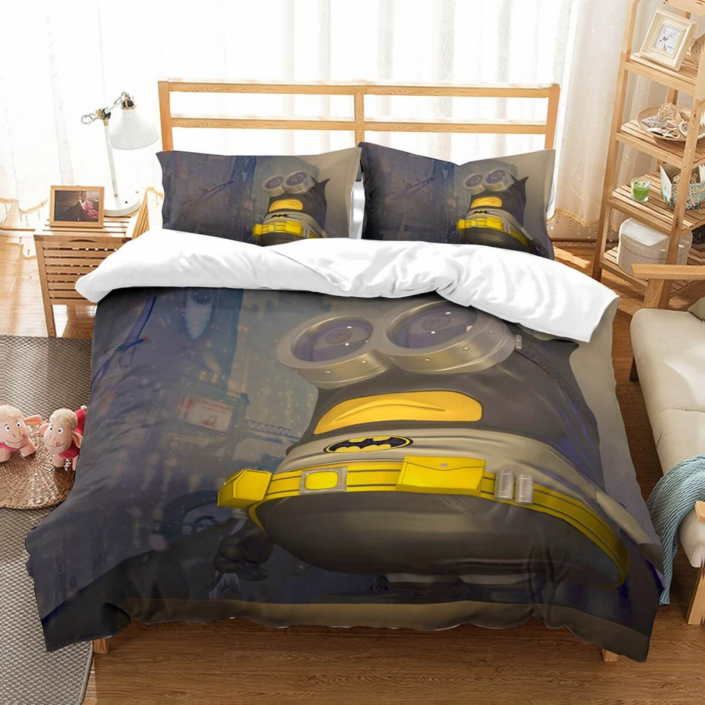3D Customize Minions Bedding Set Duvet Cover Set Bedroom Set Bedlinen